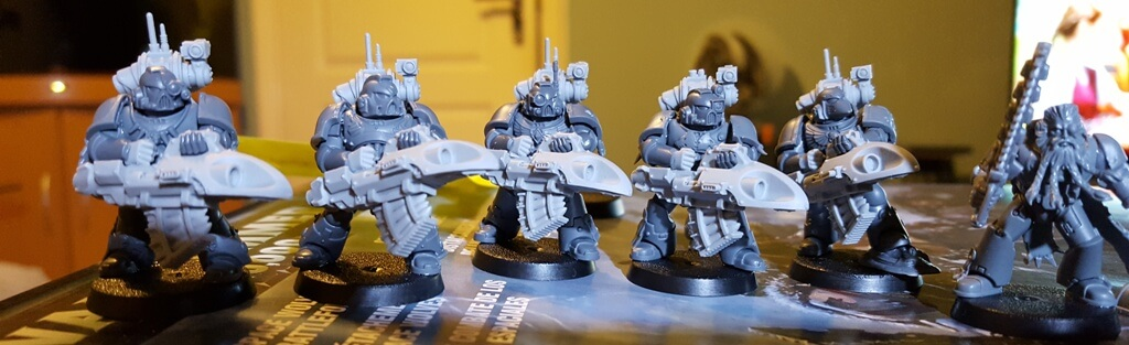 Long Fangs with Forge World Underslung Missile Launchers