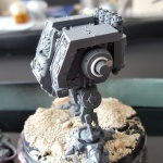 Space Wolves Dreadnought arm shim