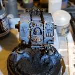 WIP 2 Space Wolves Dreadnought