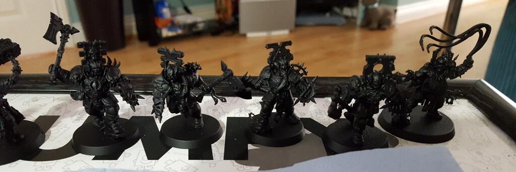 Bloodbound Warriors Line Up