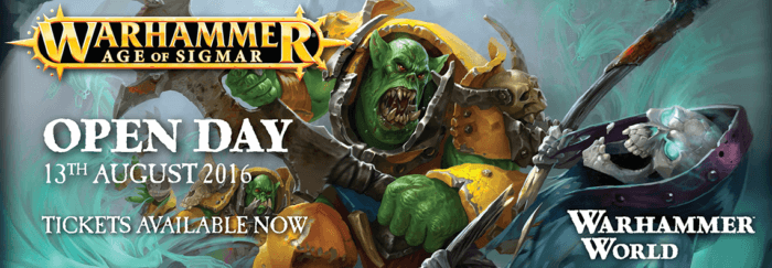 Age of Sigmar Open Day 2016