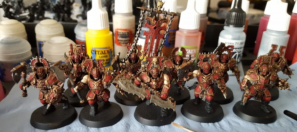 Khorne Blood Warriors WIP8