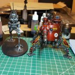 Onegar Dunecrawler and Ironstrider Balistarius