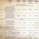 Horus Heresy Leaked Schedule - Sunday