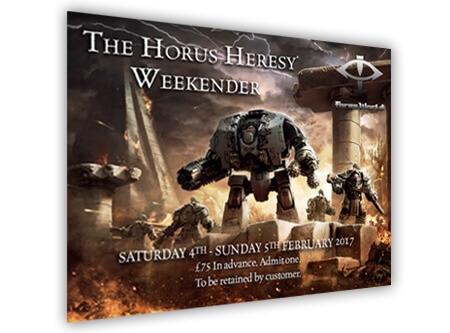 Horus Heresy Weekender 2017