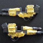 Knight Porphyrion Guns